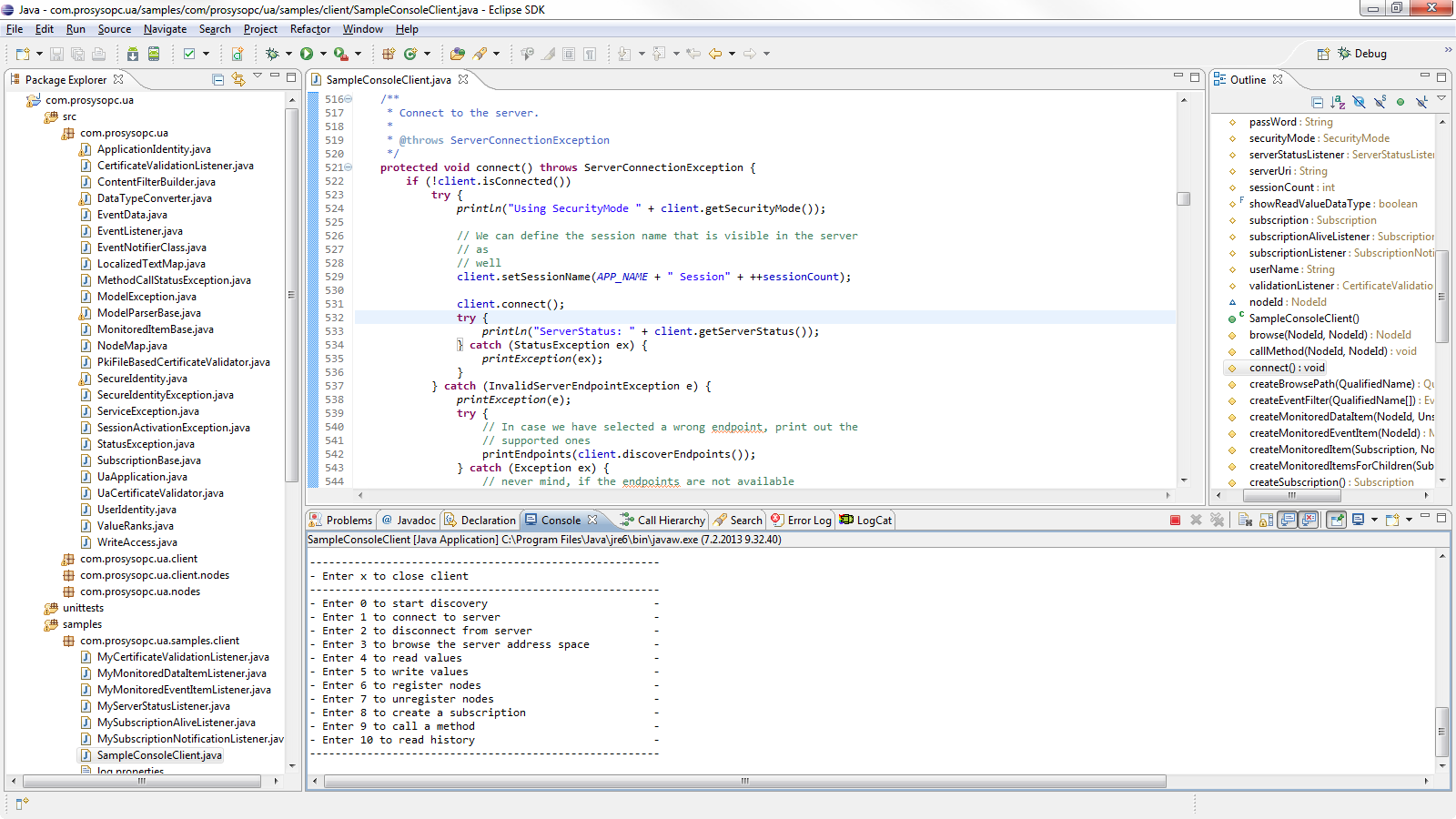 Prosys OPC UA SDK for Java - Prosys OPC