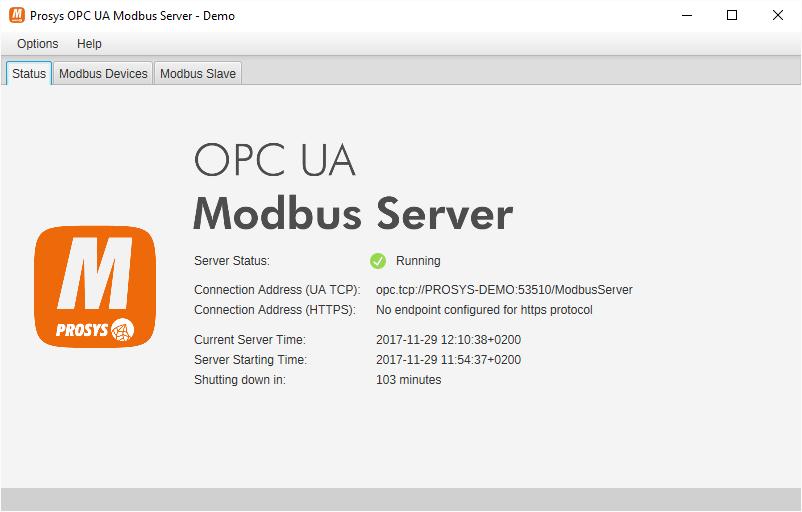 Prosys OPC UA Modbus Server - Prosys OPC